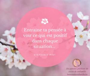 stéfamille pensée positive jour développement personnel citations yoga namaste amour reflexions éducation positive bienveillance méditation relaxer mentra bouddisme