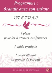 conférence, éducation positive, ateliers-conférences, grandir avec son enfant, communication positive, bienveillance