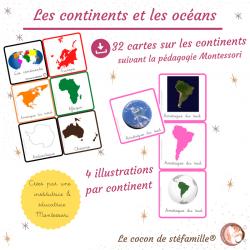 nomenclature continents et...