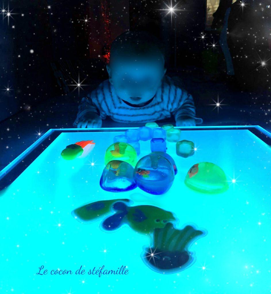 ateliers bébé, atelier parents enfant, ateliers parent bébé, snoezelen, salle sensorielle, éveil sensoriel, éveil bébé, ateliers Bruxelles, wemmel, le cocon de stéfamille