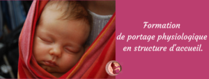 formation petite enfance Bruxelles, formation ONE, formation portage physio