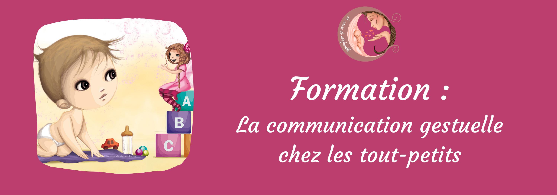 formation pro petite enfance langue des signes bébé